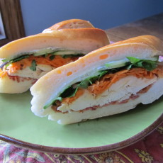 Banh-Mi Style Turkey Sandwich