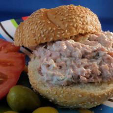Tuna Fish Sandwich Recipe on Dill Tuna Fish Sandwich Recipezaar 160826 Card Jpg