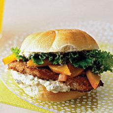 Georgia Peach Chicken Sandwiches