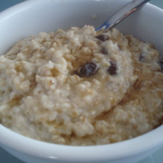 Oatmeal Raisin Cookie Porridge