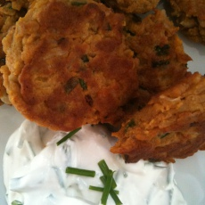 Savory Brown Rice Patties