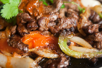 Tropical Beef Fajitas