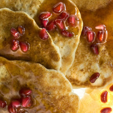 Whole WheatOat Pancakes Recipe